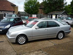 2001 E Class 2.6 V6  E240 Elegance 4dr JUST 20,000 MILES  SOLD