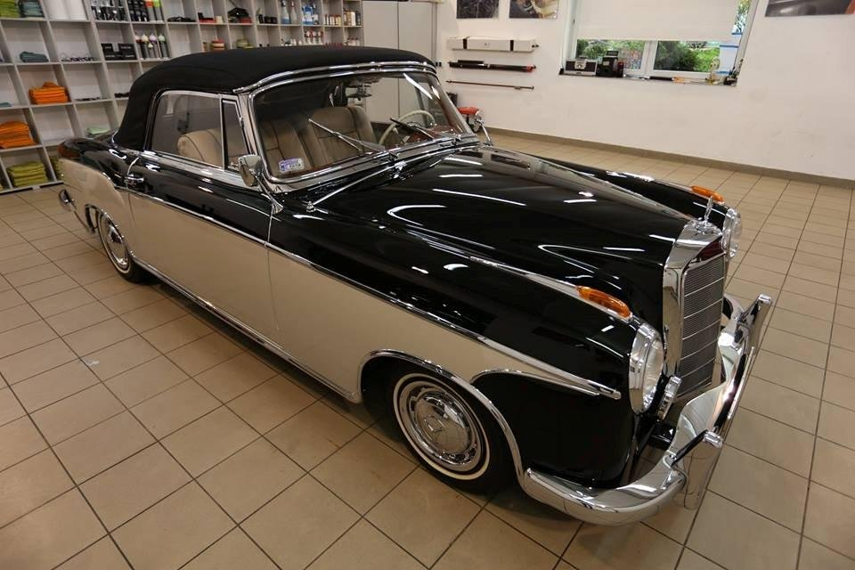 1959 Mercedes 220 SE Ponton Cabrio For Sale (picture 1 of 5)