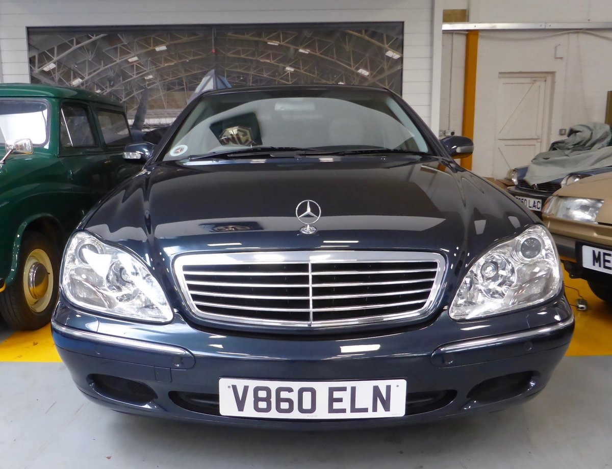1999 Mercedes S320L Auto Saloon For Sale (picture 1 of 5)