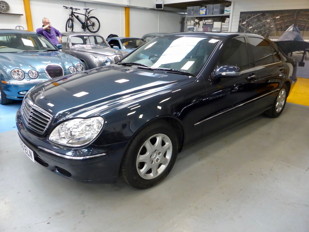 1999 Mercedes S320L Auto Saloon For Sale (picture 2 of 5)