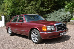 Lot 3 - A 1990 Mercedes-Benz 420SE