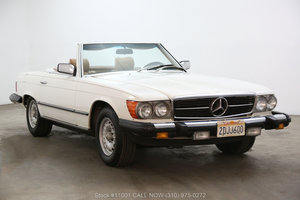 1982 Mercedes-Benz 380SL For Sale