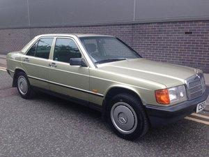 1986 Mercedes-Benz 190 2.0 E 4d For Sale