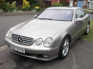 2002 Mercedes Benz CL500 For Sale