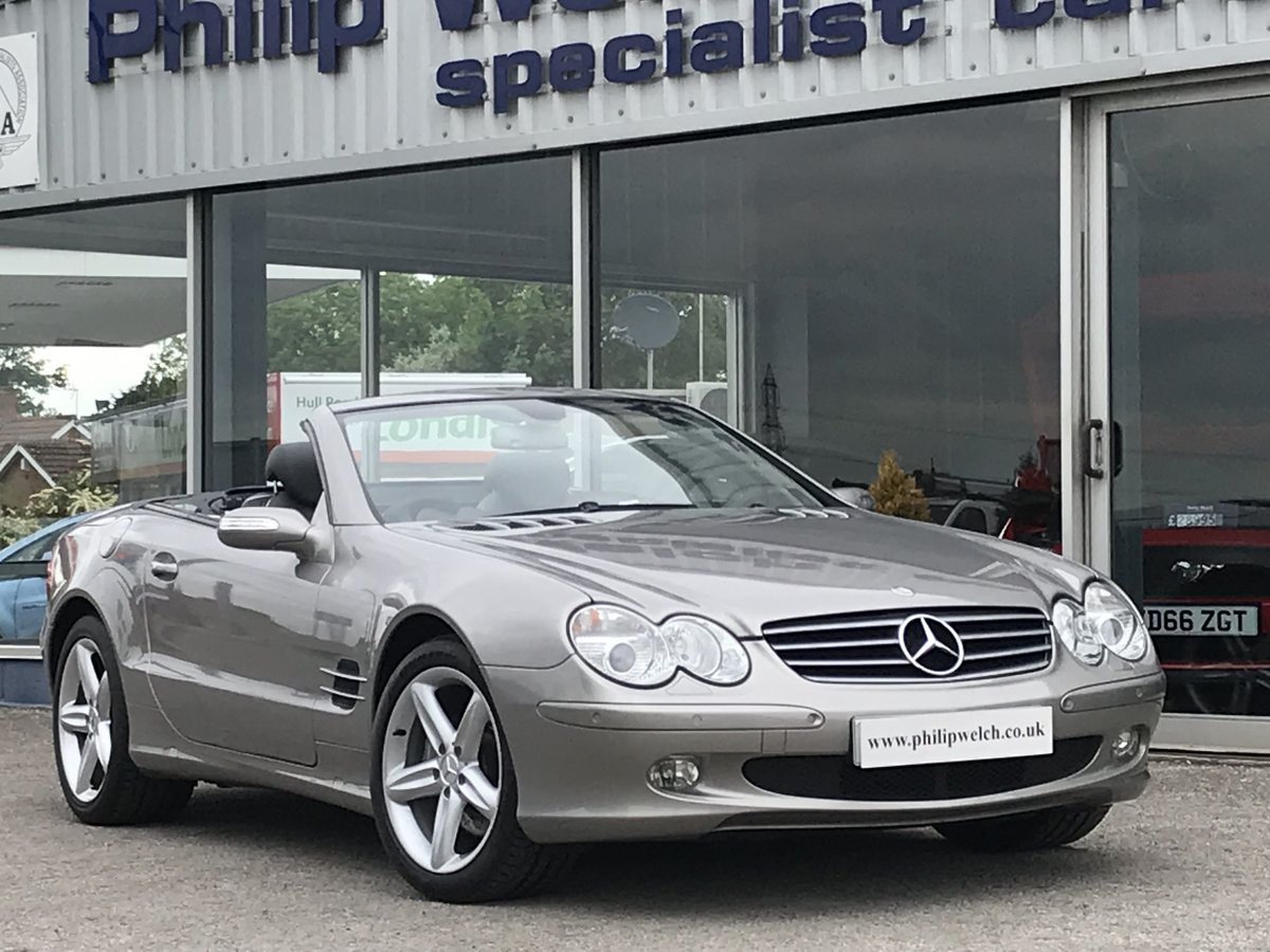 2006 MERCEDES SL500 CONVERTIBLE SOLD (picture 1 of 6)