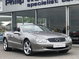 2006 MERCEDES SL500 CONVERTIBLE For Sale