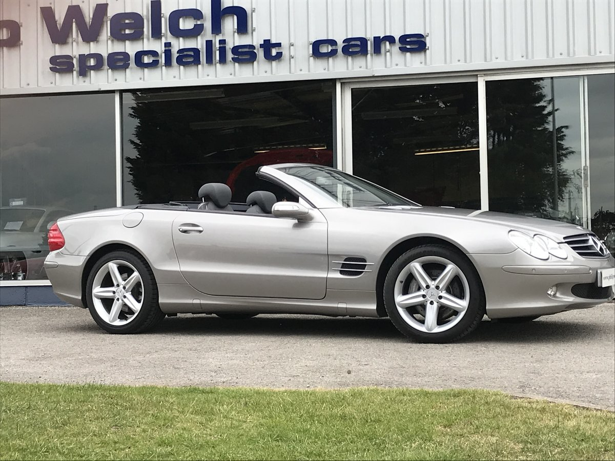 2006 MERCEDES SL500 CONVERTIBLE SOLD (picture 6 of 6)