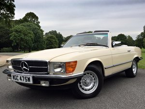1980 Mercedes 500SL V8 R107 - Amazing 10,874 MILES FROM NEW!! For Sale