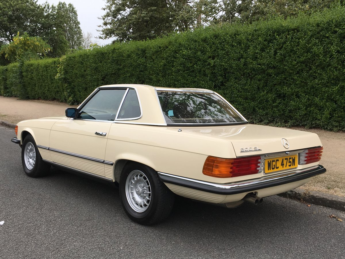 1980 Mercedes 500SL V8 R107 - Amazing 10,874 MILES FROM NEW!! For Sale (picture 2 of 6)