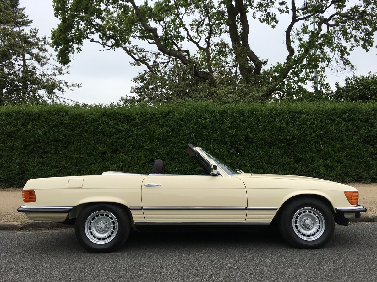 1980 Mercedes 500SL V8 R107 - Amazing 10,874 MILES FROM NEW!! For Sale (picture 3 of 6)