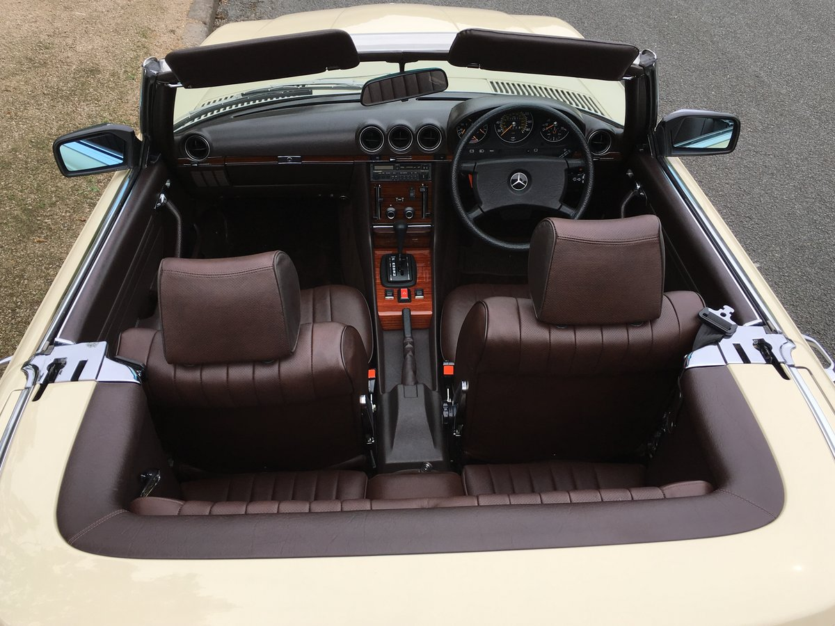 1980 Mercedes 500SL V8 R107 - Amazing 10,874 MILES FROM NEW!! For Sale (picture 5 of 6)