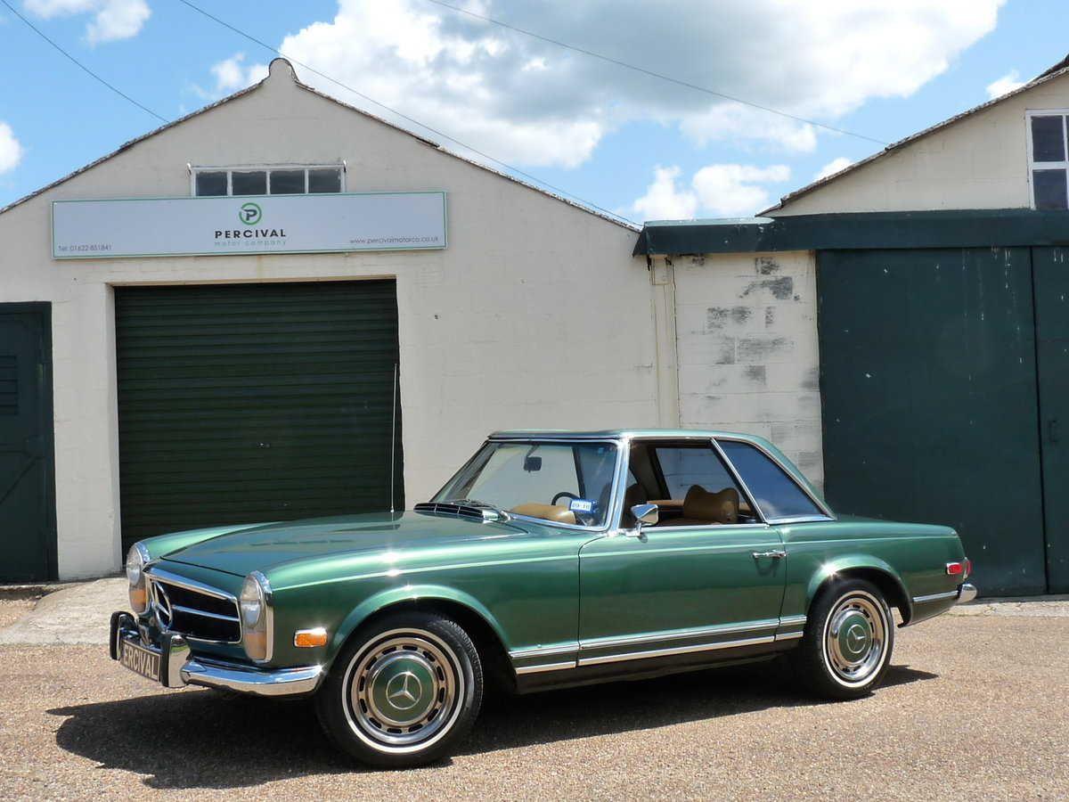 1969 Mercedes 280 SL Pagoda, Sold For Sale (picture 1 of 6)