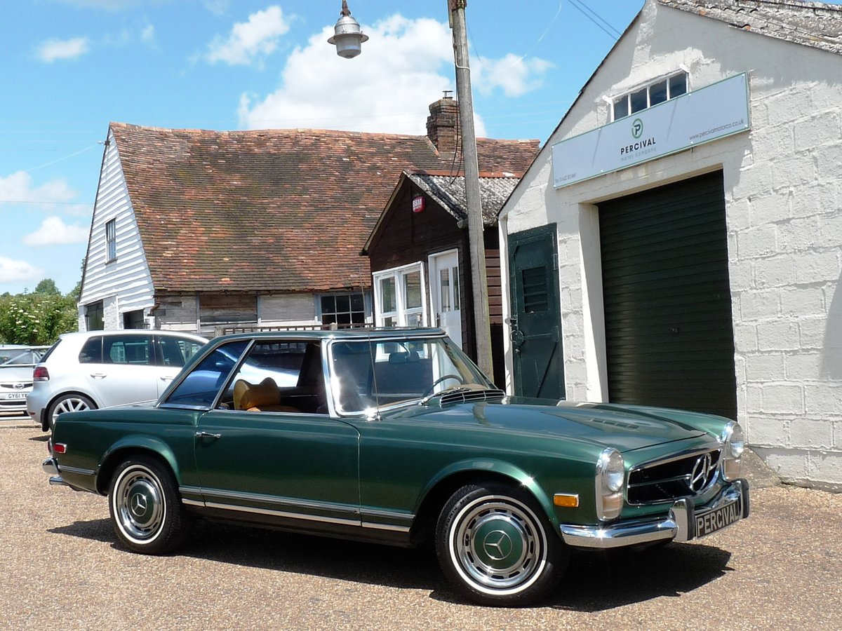 1969 Mercedes 280 SL Pagoda, Sold For Sale (picture 4 of 6)