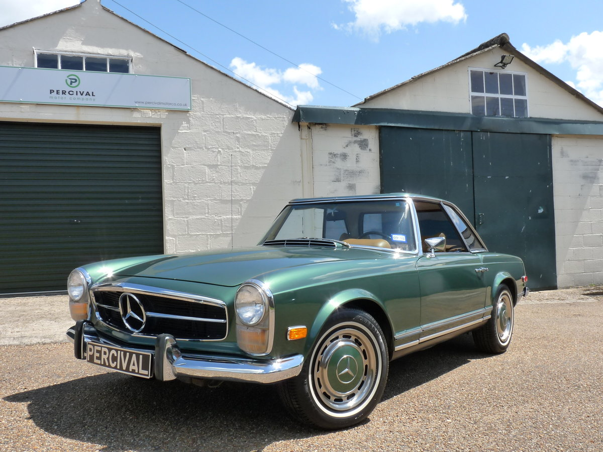 1969 Mercedes 280 SL Pagoda, Sold For Sale (picture 5 of 6)