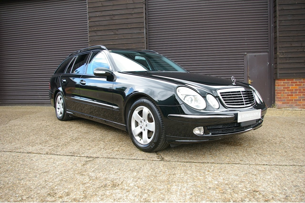 2004 Mercedes-Benz E320 Avantgarde Estate Auto (16,719 miles) SOLD (picture 1 of 6)