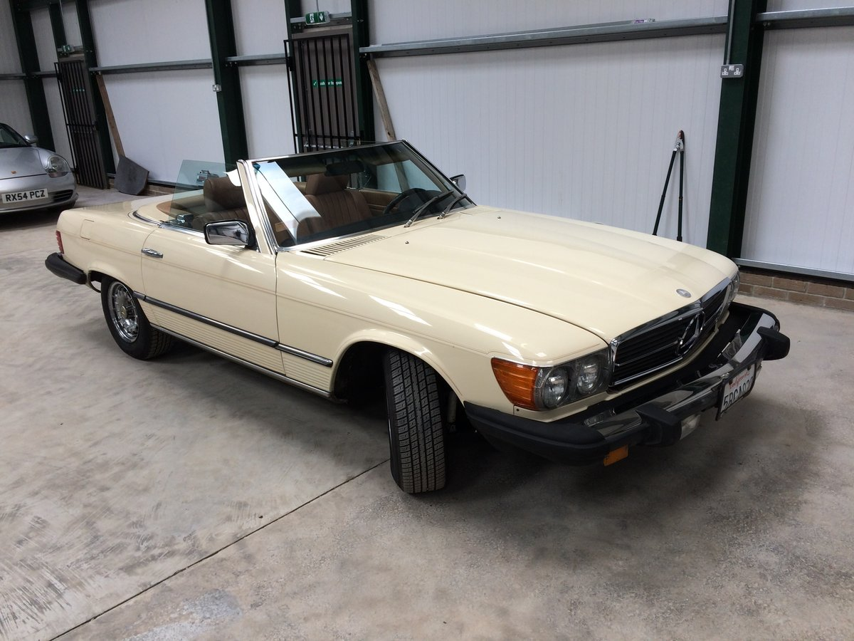 Mercedes 380 SL 1982 For Sale (picture 1 of 6)