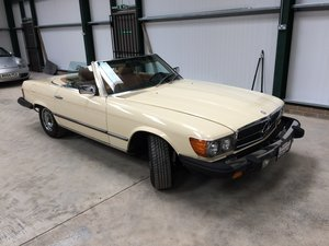 Mercedes 380 SL 1982 For Sale