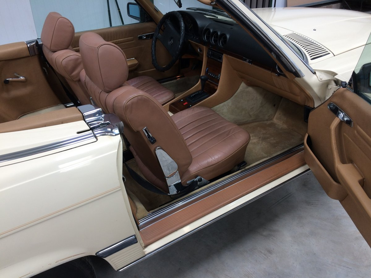 Mercedes 380 SL 1982 For Sale (picture 5 of 6)