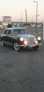 1966 Mercedes ponton 220 restored 1955