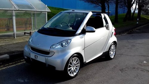 2007 MERCEDES SMART CAR FORTWO PASSION CABRIOLET CONVERTIBLE 1.0 For Sale