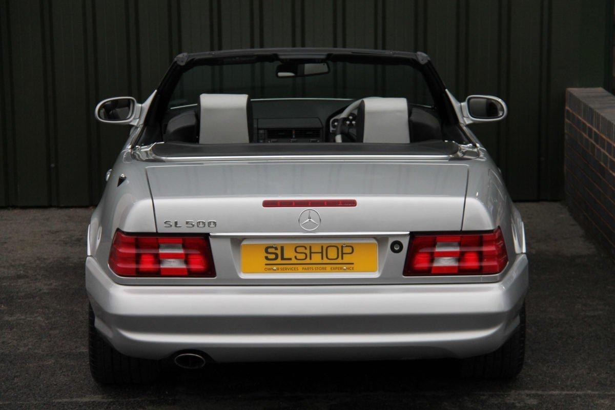 2001 MERCEDES-BENZ SL500  SILVER ARROW REDUCED TO SELL SOLD (picture 5 of 6)