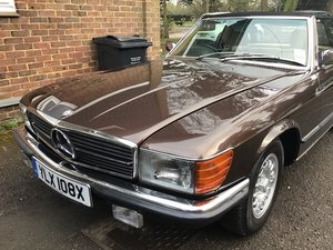 Mercedes r107 380sl 1981 unique colour For Sale