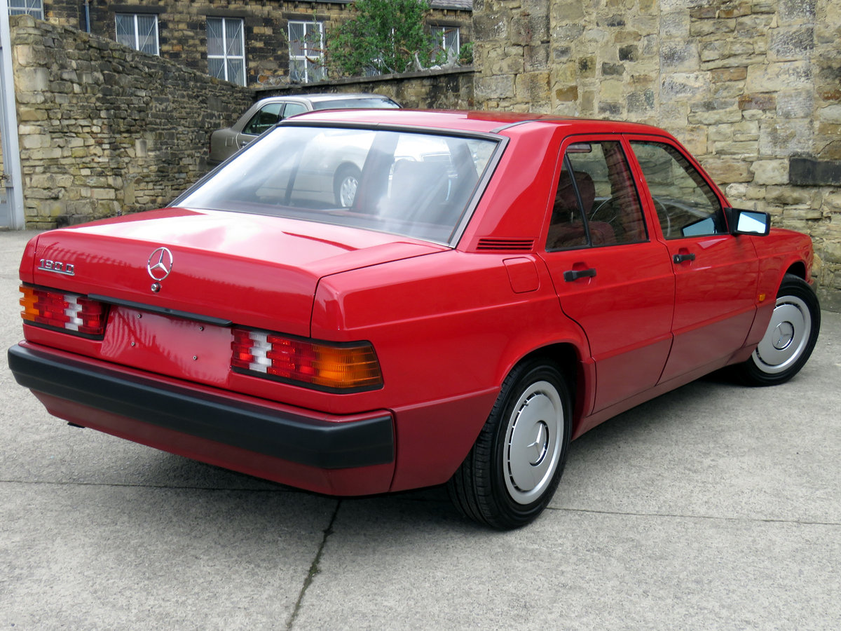1992 Mercedes W201 190D 2.0 - Just 39K Mikes - An ...