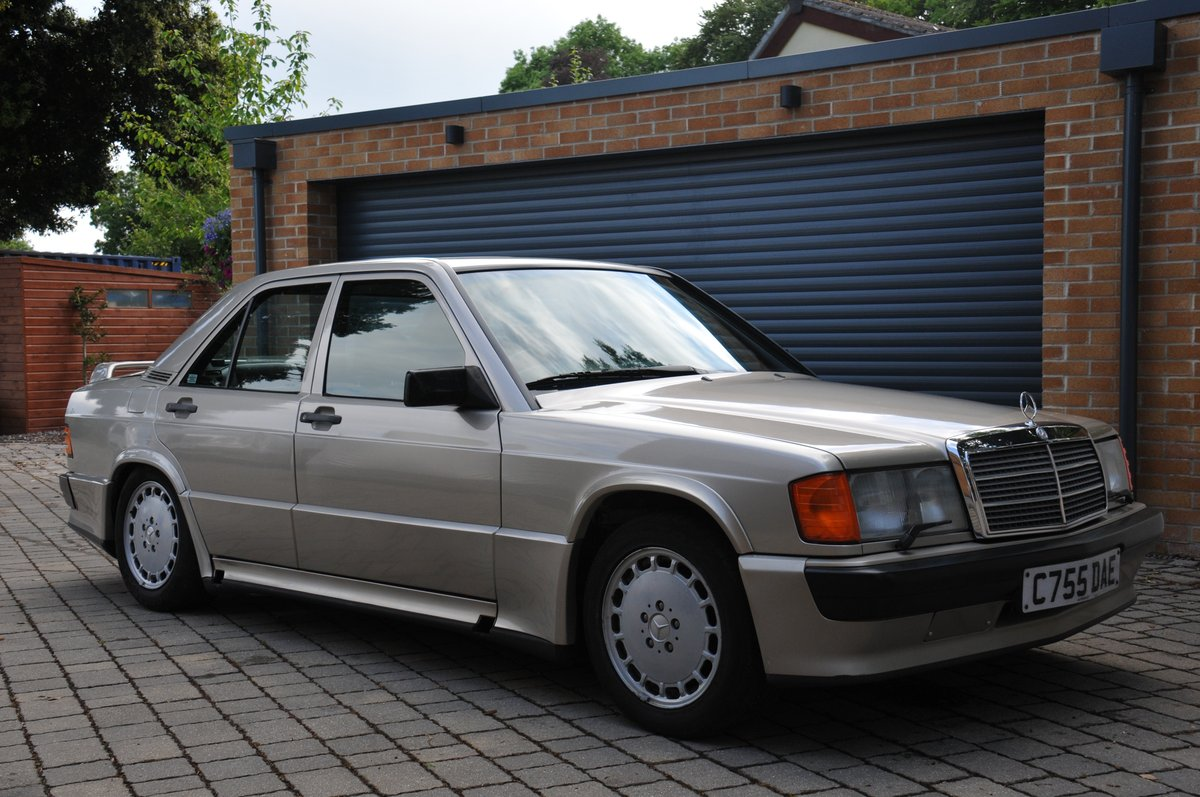 1986 Mercedes 190 2.3 Cosworth manual For Sale (picture 2 of 6)