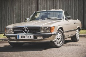 1985 Mercedes-Benz 500SL - 67,000 miles - on The Market For Sale by Auction