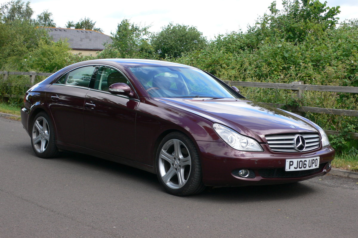 2006 Mercedes-Benz CLS 320 CDi Four Door Saloon For Sale by Auction (picture 1 of 6)