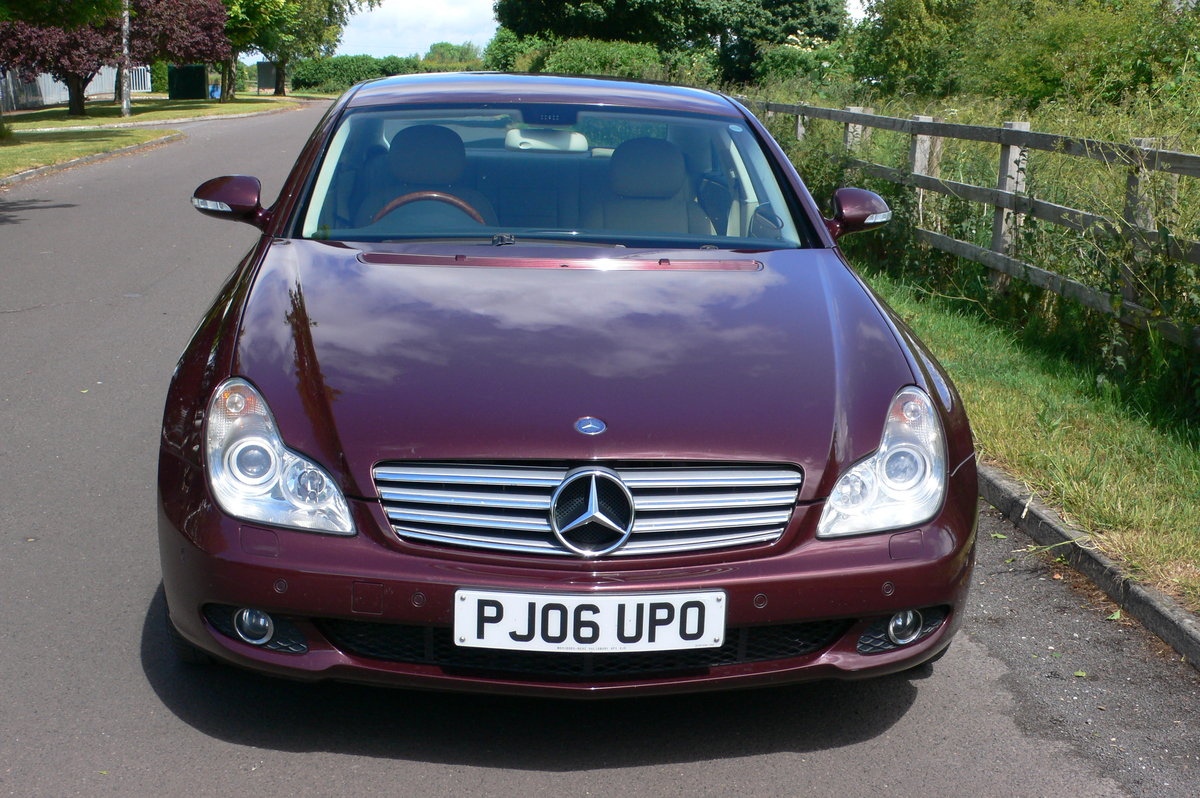 2006 Mercedes-Benz CLS 320 CDi Four Door Saloon For Sale by Auction (picture 2 of 6)