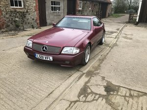 Lot 11 - A 1994 Mercedes SL280 - 23/06/2019 For Sale by Auction