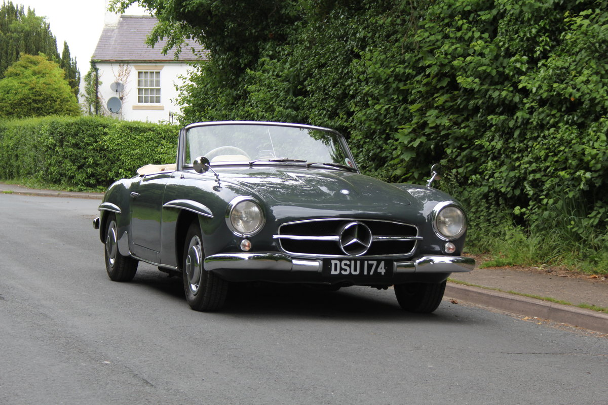 1960 Mercedes Benz 190SL - UK, Matching No's, RHD SOLD (picture 1 of 12)