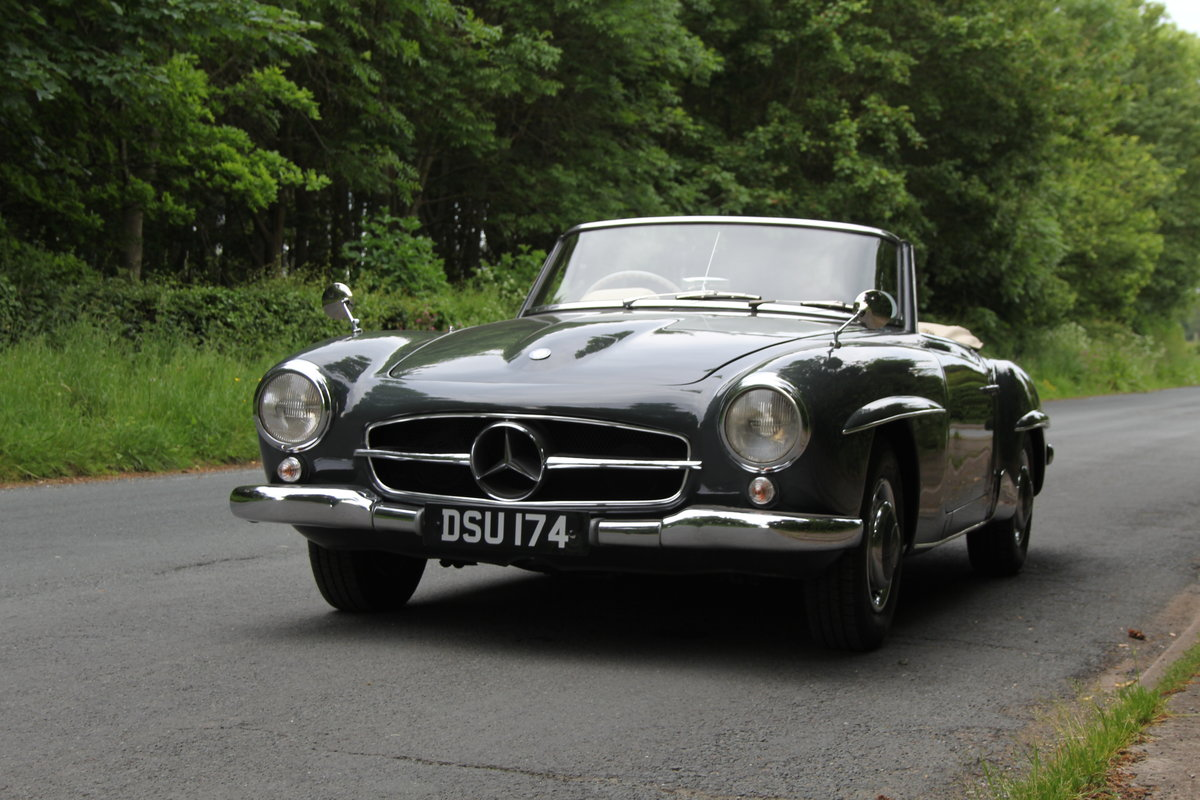 1960 Mercedes Benz 190SL - UK, Matching No's, RHD SOLD (picture 3 of 12)
