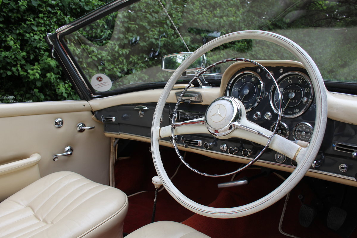 1960 Mercedes Benz 190SL - UK, Matching No's, RHD SOLD (picture 7 of 12)