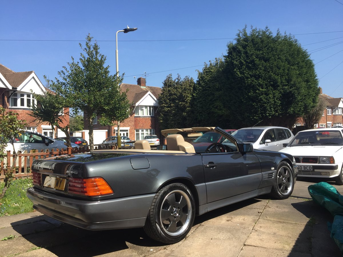 1992 Mercedes SL 300 24v Amg For Sale   Car And Classic