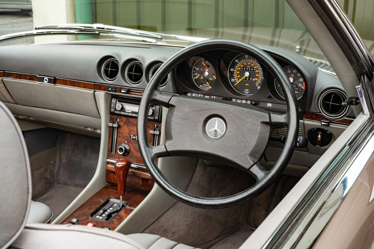 1987 Mercedes-Benz R107 300SL Impala Brown #2121 For Sale (picture 4 of 6)