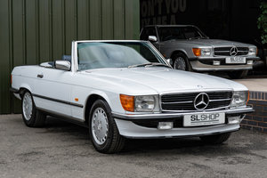 1988 Mercedes-Benz R107 500 SL Stock Arctic White #2091 For Sale