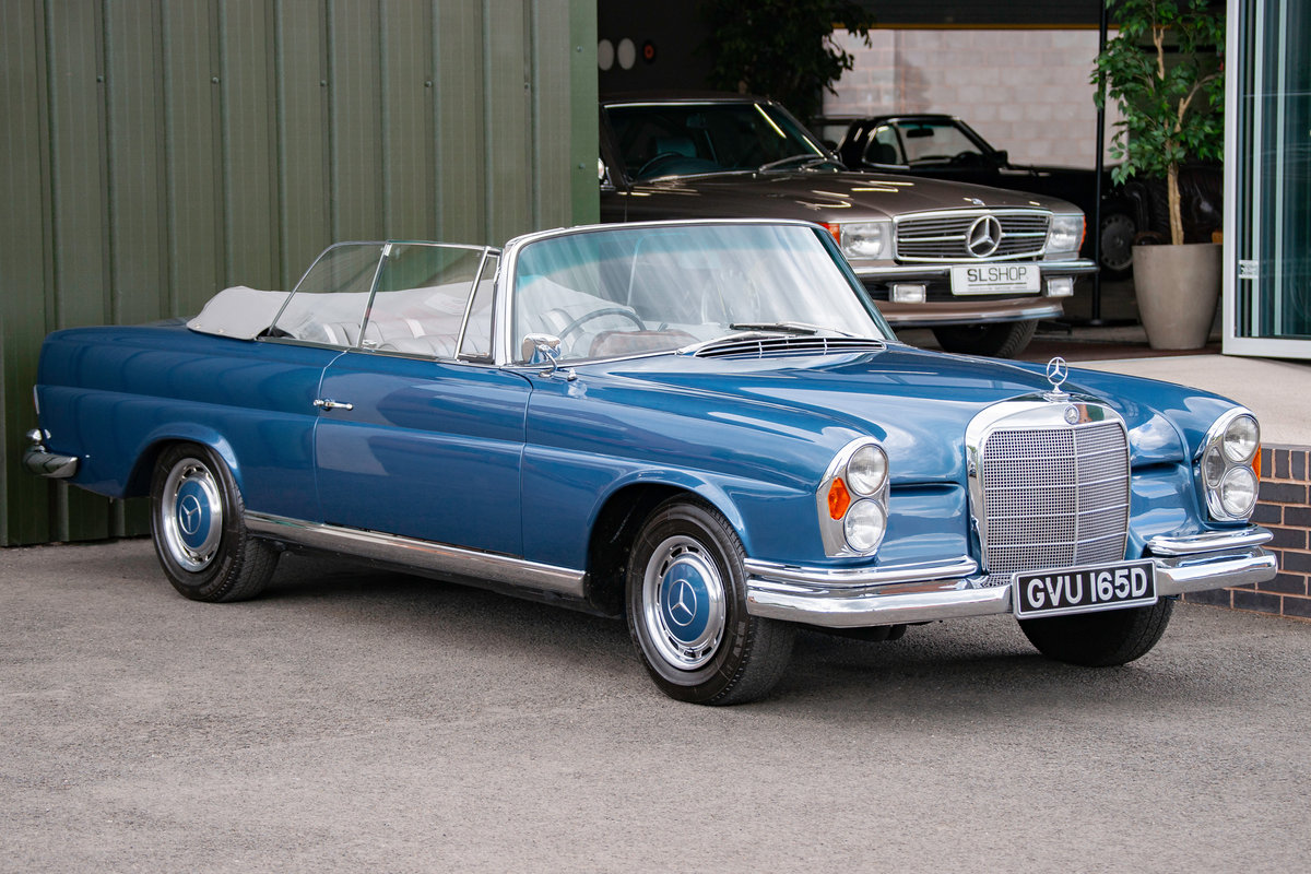 1966 Mercedes-Benz W111 280SE Cabriolet #2122 Restored, BEAUTIFUL For Sale (picture 1 of 6)
