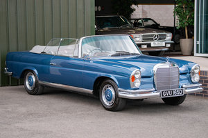 1966 Mercedes-Benz W111 280 SE Cabriolet #2122 For Sale