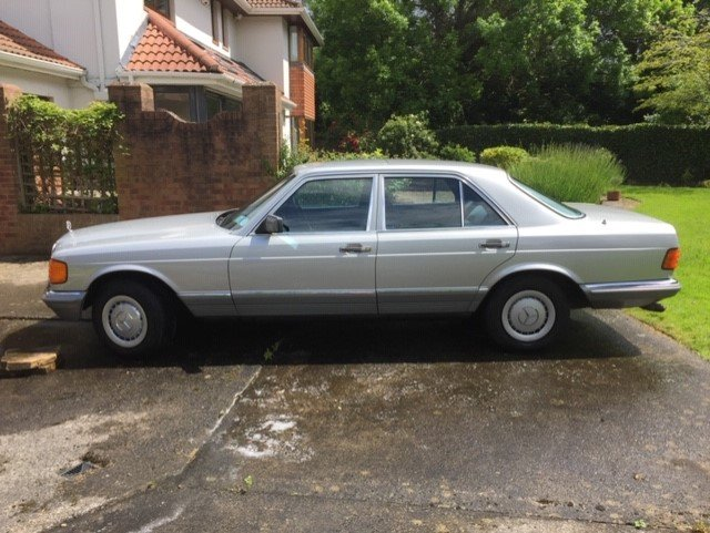 1980 Unique Mercedes 500SE  For Sale (picture 1 of 6)