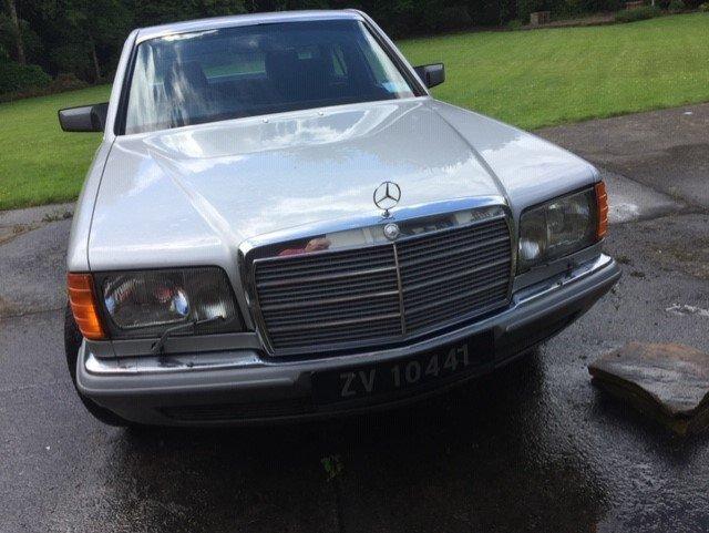 1980 Unique Mercedes 500SE  For Sale (picture 2 of 6)