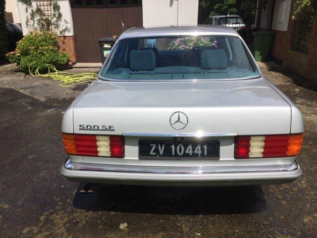 1980 Unique Mercedes 500SE  For Sale (picture 3 of 6)