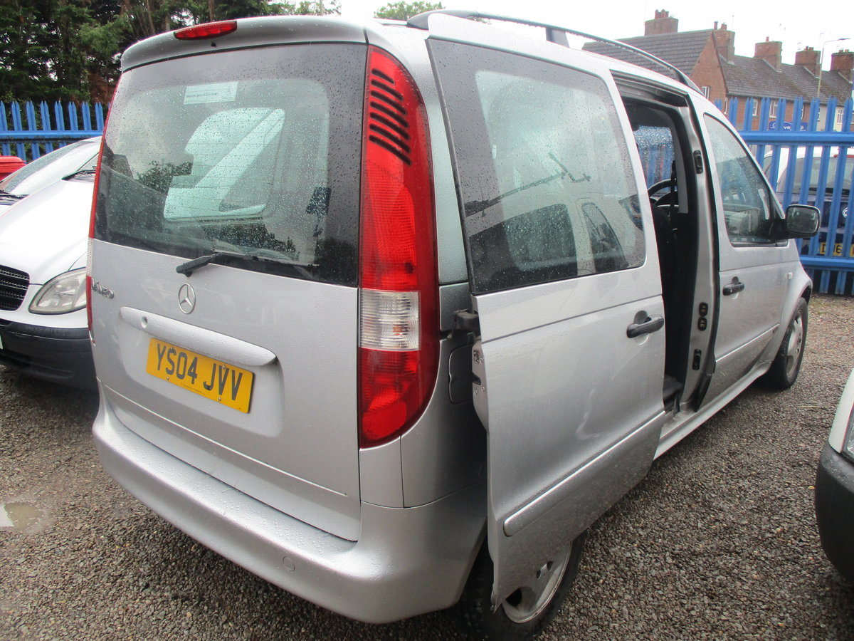 2004 VANEO MPV WITH TWIN SIDE DOORS JUST 50,000 MILES NEW MOT For Sale (picture 1 of 6)