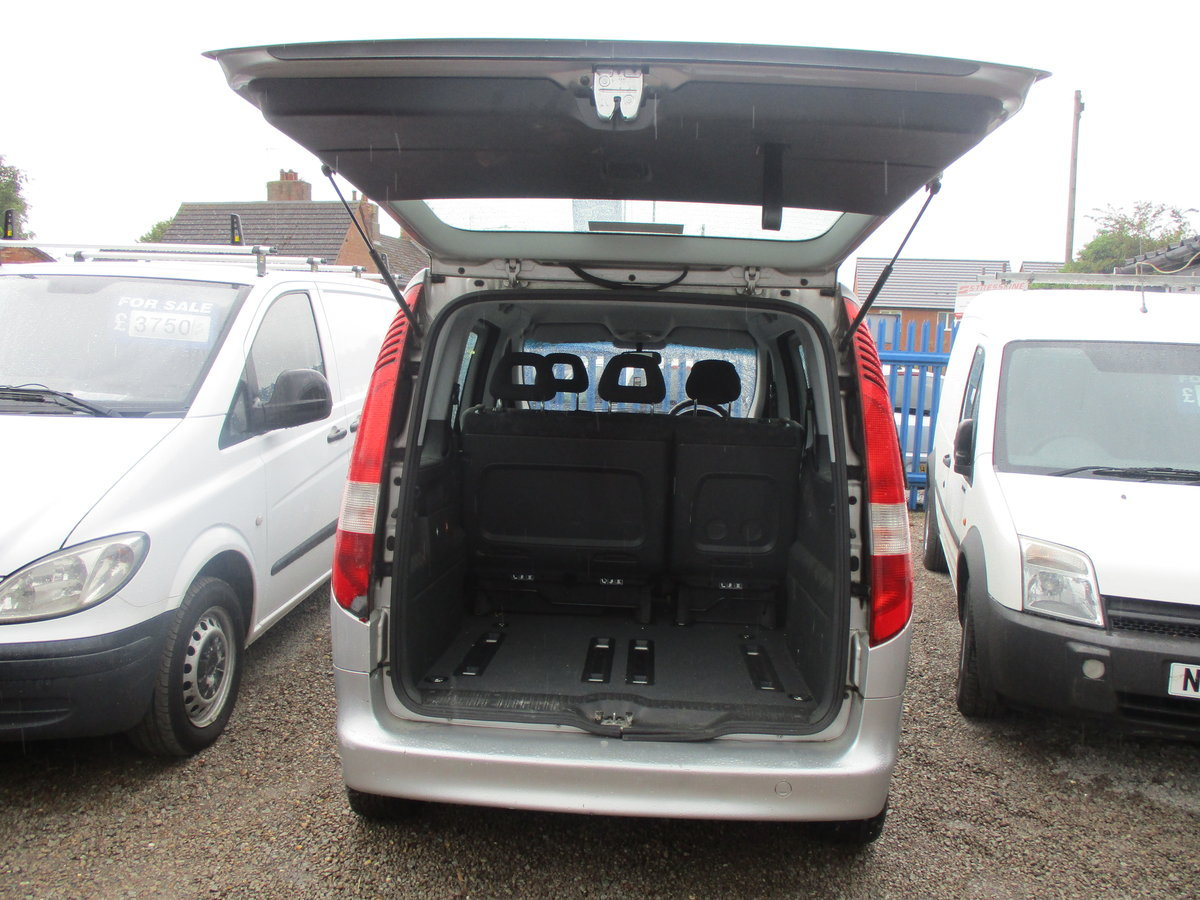 2004 VANEO MPV WITH TWIN SIDE DOORS JUST 50,000 MILES NEW MOT For Sale (picture 5 of 6)