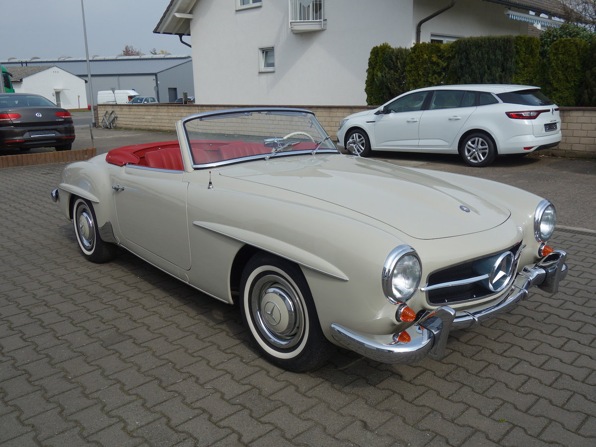 1962 190 SL in new car condition! For Sale (picture 1 of 6)