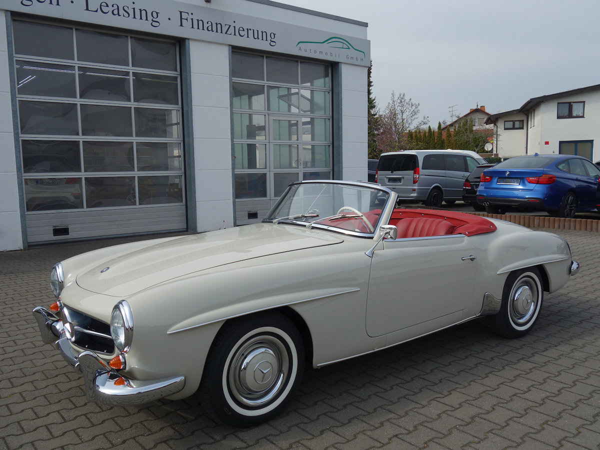 1962 190 SL in new car condition! For Sale (picture 2 of 6)