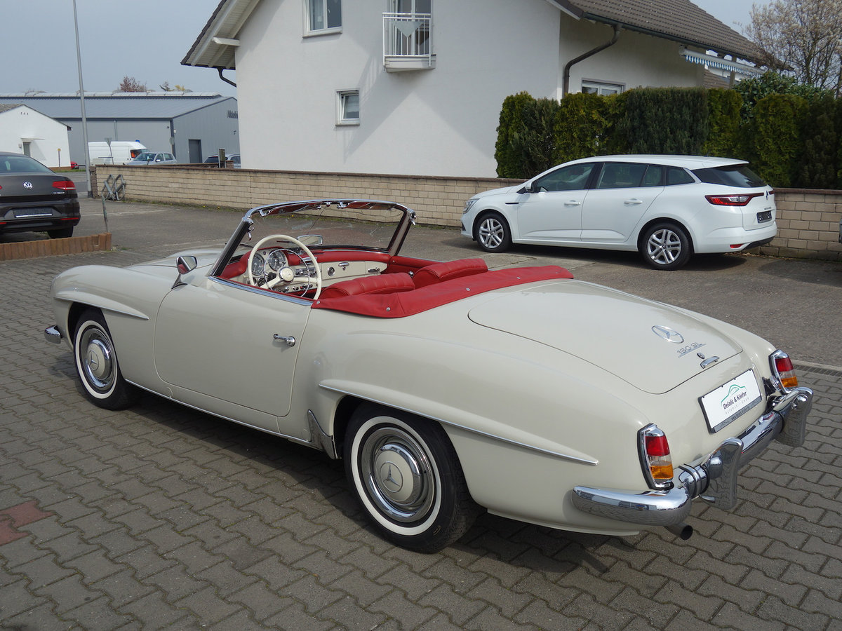 1962 190 SL in new car condition! For Sale (picture 3 of 6)