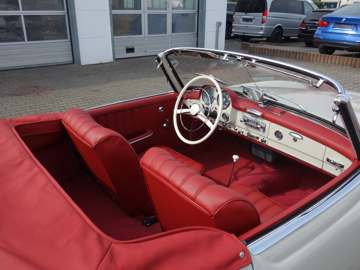 1962 190 SL in new car condition! For Sale (picture 5 of 6)