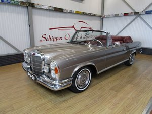 1968 Mercedes 250SE Cabrio W111 Werkscabriolet For Sale